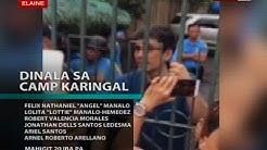 SONA: Magkapatid na Angel at Lottie Manalo at 31 iba pa, dinala sa Camp Karingal