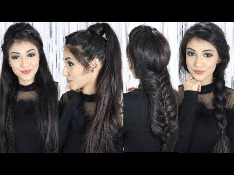 Beautiful Hairstyle For Party/Wedding 2019 | Hair Style Girl | Easy Hairstyles For Long Hair thumbnail