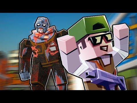 Lego Boy SAVES CITY from GIANT ZOMBIE! - The Walking Zombie: Dead City Gameplay