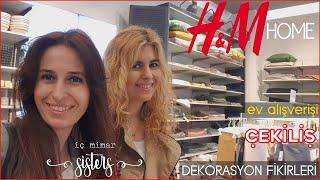 EV ALIŞVERİŞİ - H&M HOME - DEKORASYON FİKİRLERİ #7 - ÇEKİLİŞ - İç Mimar Sisters