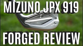 Mizuno JPX919 Forged Irons Review
