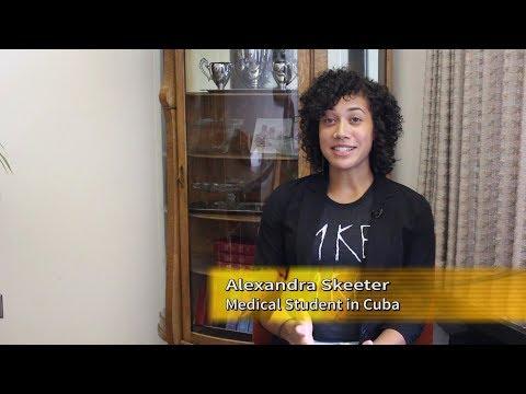 Studying Medicine in Cuba - Alexandra Skeeter