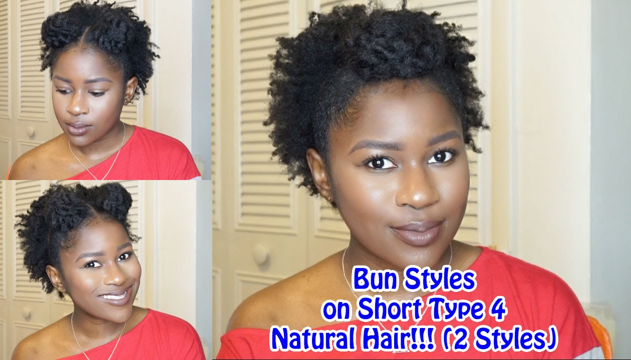 natural hair styles types bun styles on type 4 hair 2 styles mona 3567 | maxresdefault