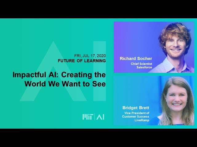 10am: Impactful AI: Creating the World We Want to See