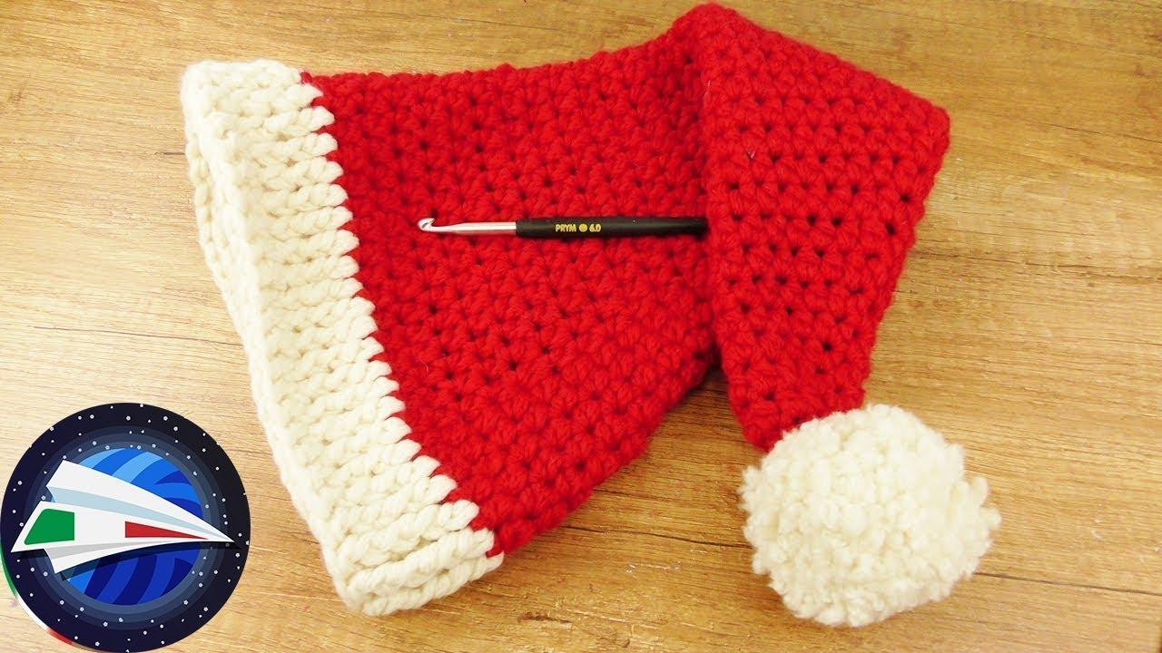 Come fare il cappello di Babbo Natale | Cappello babbo natale ... | 720x1280