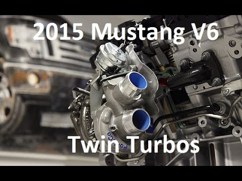 Ecoboost Twin Turbo 2015 3 7l Mustang V6 Project Part 1