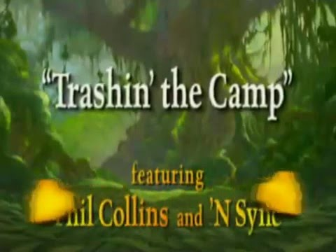 'N Sync & Phil Collins - Trashin' The Camp (Official Music Video)
