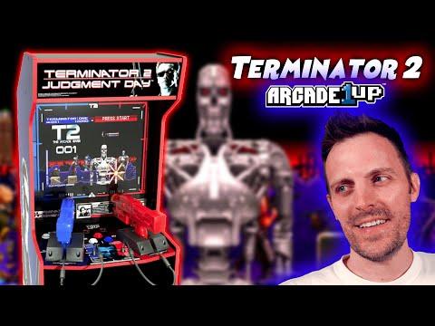 Arcade1Up Terminator 2 vs. Original Cabinet from Scarlet Sprites