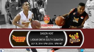 2014 AirAsia ABL Game 5: Saigon Heat vs Laskar Dreya South Sumatra