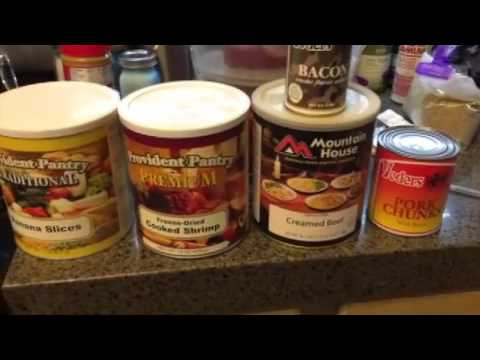 Freeze dried and canned food review