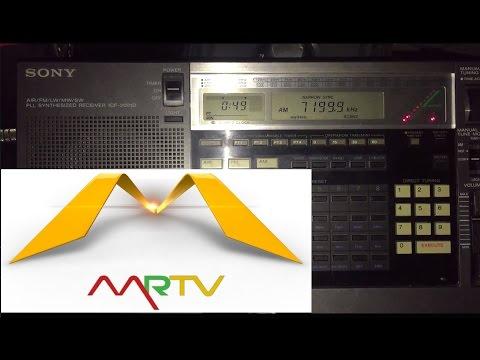 200 metre longwire: Myanmar Radio 7200 kHz, Yangon, first reception on 41 metres