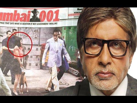 Amitabh Bachchan SLAMS Bombay Times For Fake News!