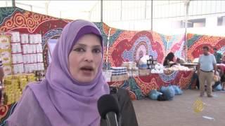هذا الصباح-سوق خيري لتوفير احتياجات الأسرة الفقيرة بغزة