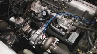 Modified Crown draw through turbo Datsun L24 240Z 280Z