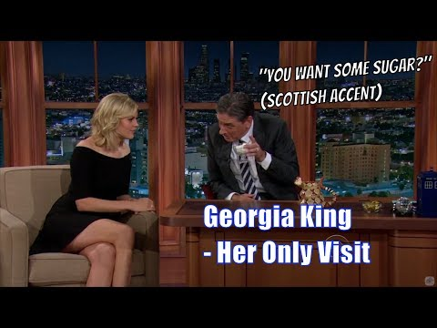 Georgia King   Tries A Southern Accent & s Us Dance Moves  Her Only Visits 1080
