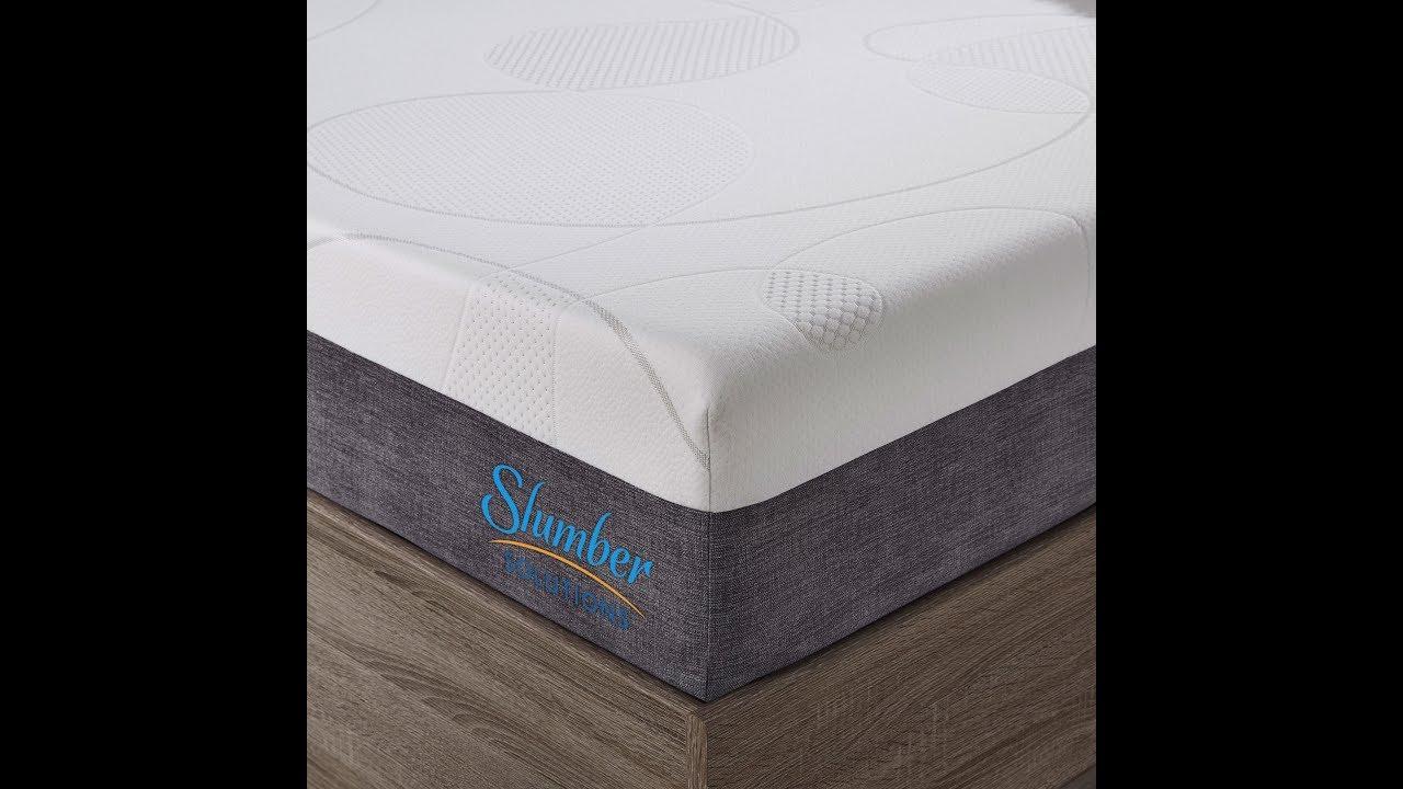 Slumber Solutions Choose Your Comfort Gel Memory Foam Mattress