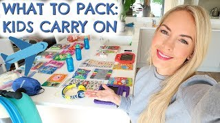 WHAT TO PACK: KIDS CARRY ON  |  SHORT HAUL POUNDLAND IDEAS