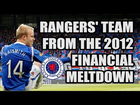 Rangers' Team From the 2012 Financial Meltdown: Where Are They Now?
