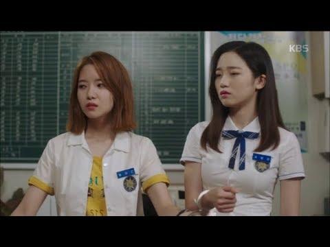 학교 2017 - 하승리X한보배 수갑 차고 화해 시도!.20170828