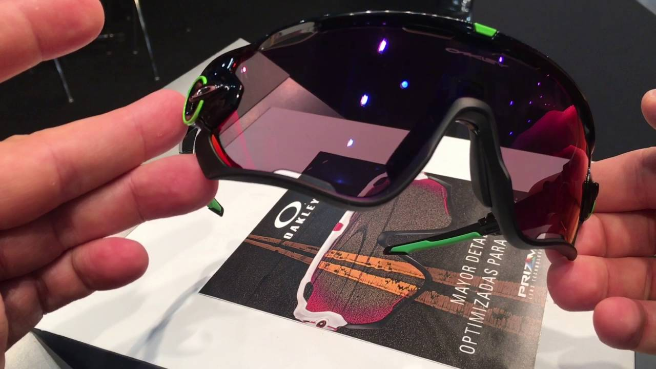 d62daaa7a6 OAKLEY JAWBRAKER PRIZM ROAD CAVENDISH EDITION - YouTube