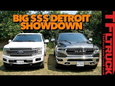 Ram  vs Ford F- Limited Review: Canucks & Trucks (Luxury Edition)