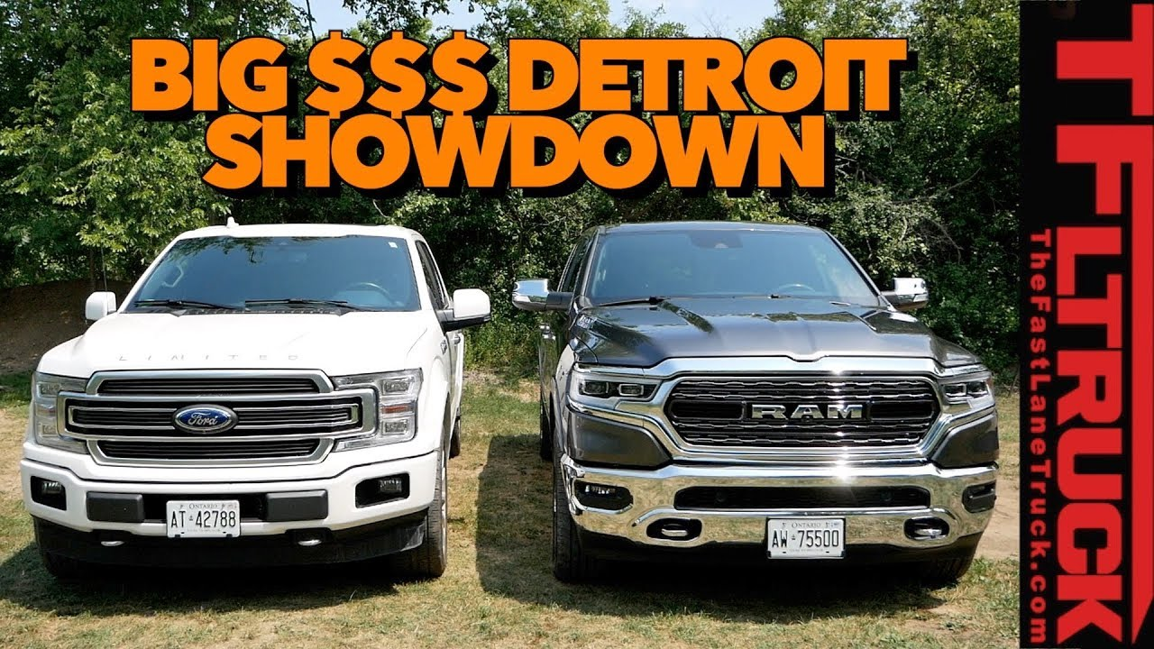 2019 Ram 1500 vs Ford F-150 Limited Review: Canucks ...