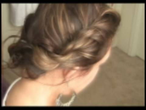 DIY Hair Tutorial Easy  Bohemian Twist How to do a Cute