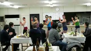 遠方で素人6人が結婚式二次会で余興をしました。