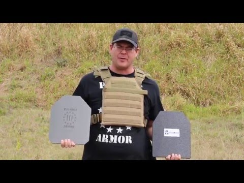 Patriot Armor Side by Side Comparison to AR500 Armor