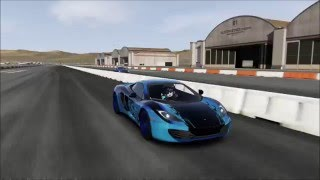 Forza 6 - Audi R8 V10 2016 vs Mclaren MP4-12C Drag Race!