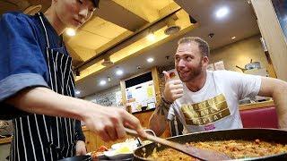 Trying SUPER SPICY Korean BBQ Chicken - DAKGALBI | Busan, South Korea