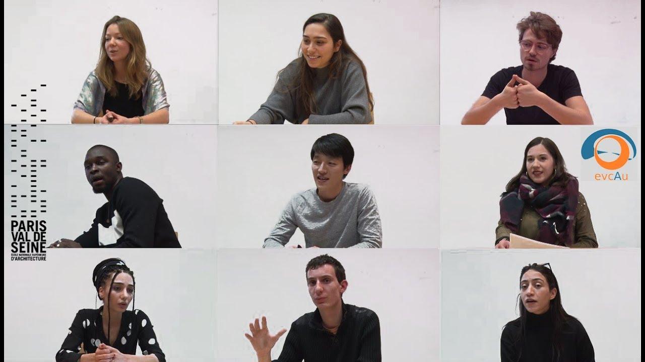 Ensa Paris Val De Seine presentation du seminaire architecture intelligence / s7 paris val de seine