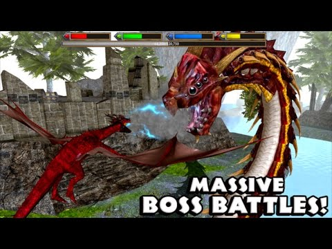 ULTIMATE DRAGON SIMULATOR - By  Gluten Free Games - Massive Boss Battle - IOS/ANDROID