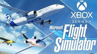 Flight Simulator no Xbox Series X - Voando na Versão de Console!!!