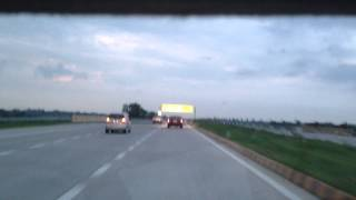 Driving on Yamuna Expressway - The best highway in India, Travel @India