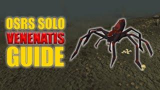 OSRS Solo Venenatis Guide w/ 50 Kills Loot (Easy OSRS Boss Series Episode 11)