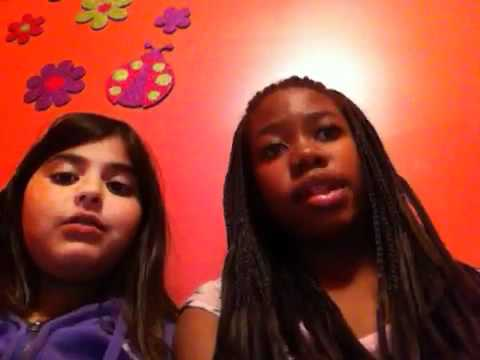 Mariam and Deanna singing