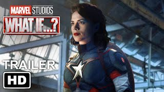 Marvel's WHAT IF...? Trailer #1 HD | Hayley Atwell, Anthony Mackie, Samuel L. Jackson