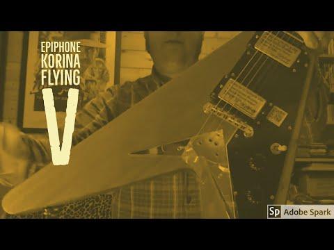 epiphone korina flying v review youtube. Black Bedroom Furniture Sets. Home Design Ideas