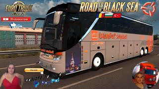 "Euro Truck Simulator 2 (1.38)   Bus Setra 417 HDH [1.38] by Polat Y?ld?ran Tekirda? Turkey DLC Road to the Black Sea by SCS Animated gates in companies v3.7 [Schumi] Real Company Logo v1.0 [Schumi] Company addon v1.8 [Schumi] Trailers and Cargo Pack by Jazzycat Motorcycle Traffic Pack by Jazzycat FMOD ON and Open Windows Naturalux Graphics and Weather Spring Graphics/Weather v3.6 (1.38) by Grimes Test Gameplay ITA Europe Reskin v1.0 + DLC's & Mods What's in the Vehicle?: -31 Company Coatings -Door and Luggage Animation -Realistic Physics -Interior Lighting -New sounds with Fmod -Multiple Modification Options -Complete Inner Outer Model Covered with AO -2 + 1 and 2 + 2 Options -Alcoa and 2 Types of Setra Wheel Covers -Color Color Upholstery Options -Muavin Plugin -Passenger Plugin -Animated Keys -LED signs https://ets2.lt/en/setra-417-hdh-1-38/  For Donation and Support my Channel https://paypal.me/isabellavanelli?loc... #JoeBidenforPresident  SCS Software News Iberian Peninsula Spain and Portugal Map DLC Planner...2020 https://www.youtube.com/watch?v=NtKeP... Euro Truck Simulator 2 Iveco S-Way 2020 https://www.youtube.com/watch?v=980Xd... Euro Truck Simulator 2 MAN TGX 2020 v0.5 by HBB Store https://www.youtube.com/watch?v=HTd79...  #TruckAtHome #covid19italia Euro Truck Simulator 2    Road to the Black Sea (DLC)    Beyond the Baltic Sea (DLC)   Vive la France (DLC)    Scandinavia (DLC)    Bella Italia (DLC)   Special Transport (DLC)   Cargo Bundle (DLC)   Vive la France (DLC)    Bella Italia (DLC)    Baltic Sea (DLC) Iberia (DLC)   American Truck Simulator New Mexico (DLC) Oregon (DLC) Washington (DLC) Utah (DLC) Idaho (DLC) Colorado (DLC)     I love you my friends Sexy truck driver test and gameplay ITA  Support me please thanks Support me economically at the mail vanelli.isabella@gmail.com  Roadhunter Trailers Heavy Cargo  http://roadhunter-z3d.de.tl/ SCS Software Merchandise E-Shop https://eshop.scssoft.com/  Euro Truck Simulator 2 http://store.steampowered.com/app/227... SCS software blog  http://blog.scssoft.com/  Specifiche hardware del mio PC: Intel I5 6600k 3,5ghz Dissipatore Cooler Master RR-TX3E  32GB DDR4 Memoria Kingston hyperX Fury MSI GeForce GTX 1660 ARMOR OC 6GB GDDR5 Asus Maximus VIII Ranger Gaming Cooler master Gx750 SanDisk SSD PLUS 240GB  HDD WD Blue 3.5"" 64mb SATA III 1TB Corsair Mid Tower Atx Carbide Spec-03 Xbox 360 Controller Windows 10 pro 64bit"