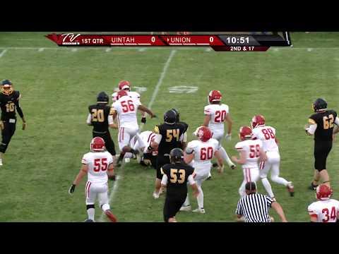 VTV Channel 6 High School Football: Uintah Utes @ Union Cougars