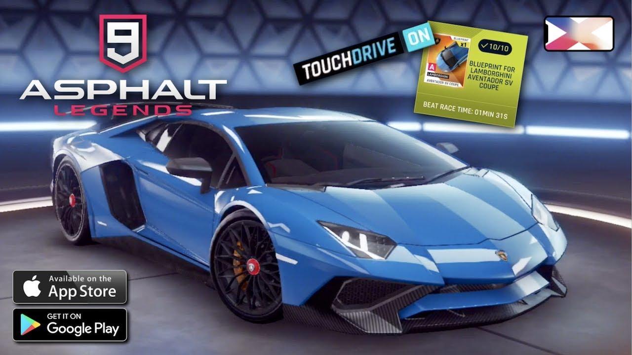Asphalt 9 Legends Lamborghini Aventador Sv Coupe Car Loot