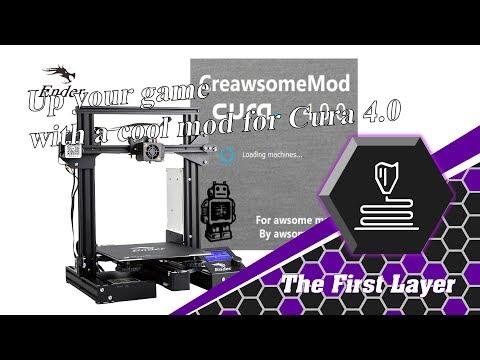 Creawsome mod for CURA 4 0 - YouTube