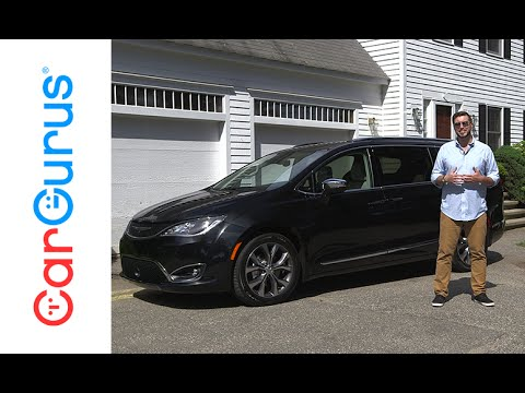 2017 Chrysler Pacifica Cargurus Test Drive Review Youtube
