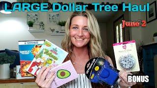LARGE Dollar Tree Haul 💕 All NEW items💕 Ideas/Bonus