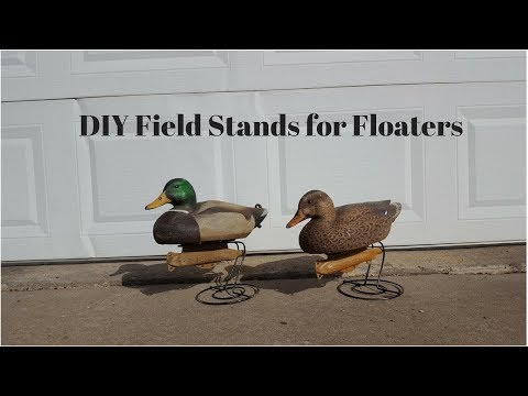 DIY Floater Decoys to Field Decoys!!!