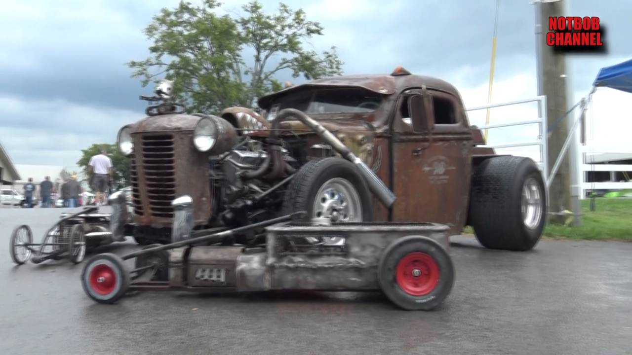 how to make a rat rod