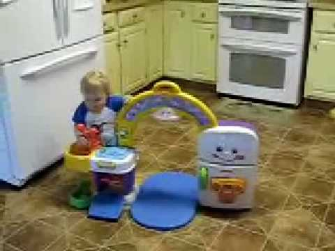 Fisher Price Laugh U0026 Learn 2 In 1 Learning Kitchen   YouTube