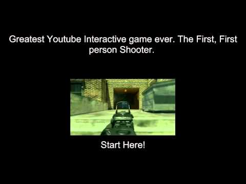 Youtube Interactive First Person Shooter