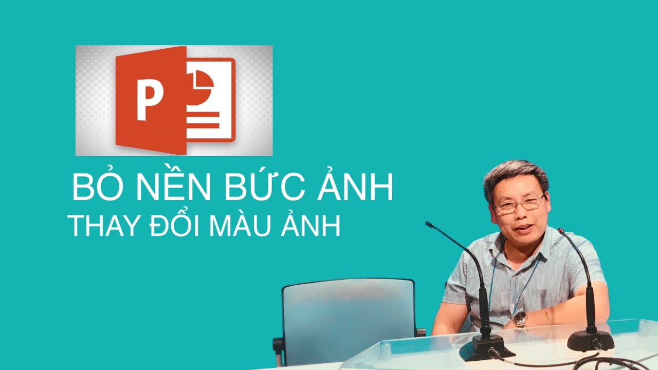 BỎ NỀN ẢNH BẰNG POWERPOINT. (Remove photo background with powerpoint)